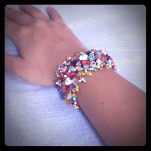 2/$15 Colorful Beaded Bracelet